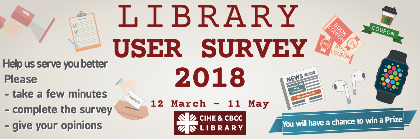 Lib user survey 2018