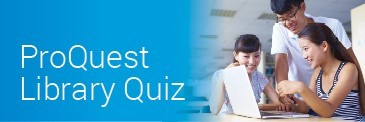 Proquest 2019 Library Quiz
