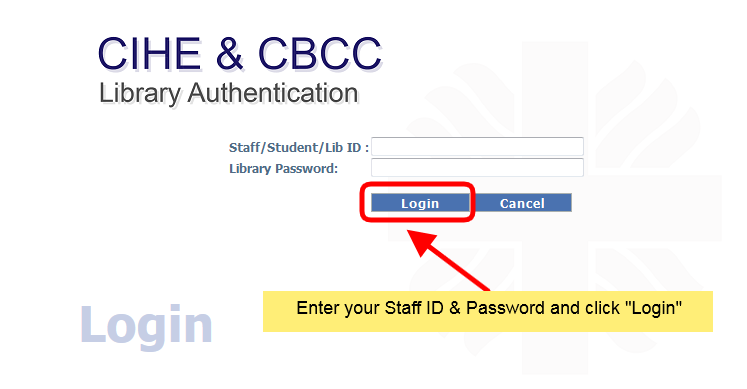 Login Your Library Account